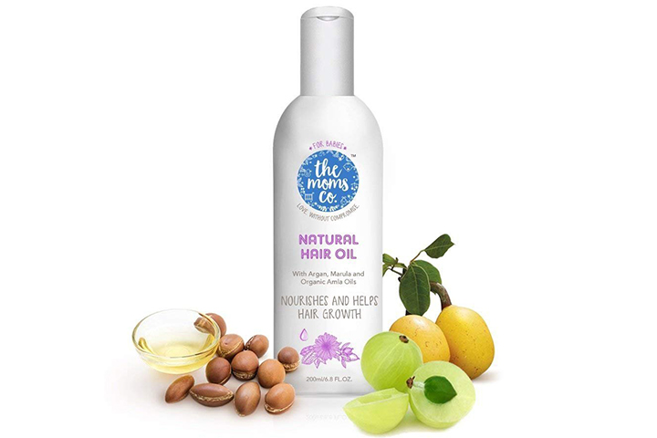 The Moms Co. Natural Hair Oil For Babies