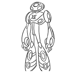 ben 10 coloring pages : 20 free printable for little ones - Ben Ten Alien Force Coloring Pages