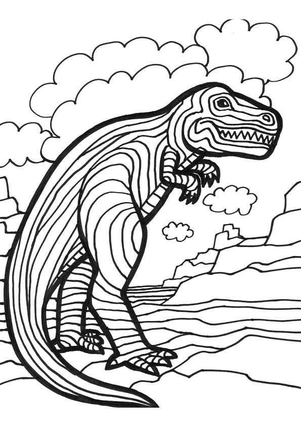 The-Striped-Dinosaur