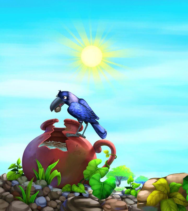 The Thirsty Crow Story For Kids