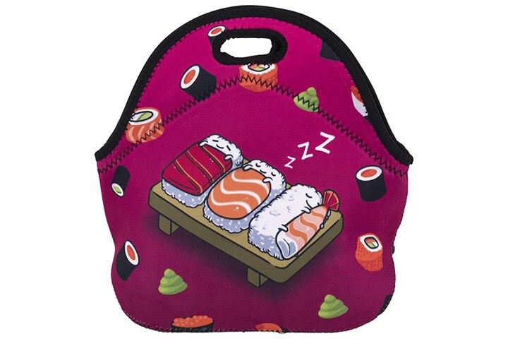 Violet Mist Neoprene Lunch Bag Tote