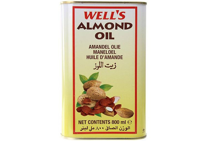 Wells' Almond Baby Hair Oil