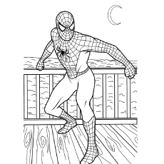 photograph regarding Printable Spiderman referred to as 50 Superb Spiderman Coloring Internet pages Your Child Will Take pleasure in