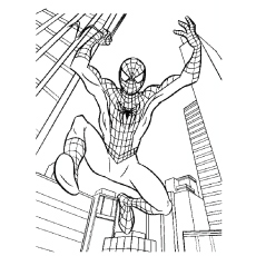 spiderman-jumping