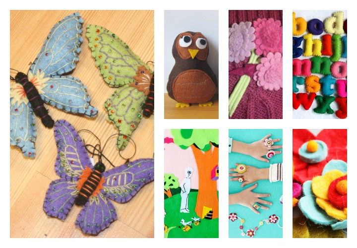 Felt Crafts For Toddlers And Kids Images