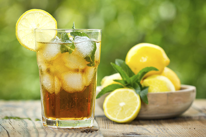 Iced Tea Natural Energy Boosters for Pregnancy