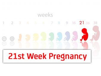 21st Week Pregnancy: Symptoms, Baby Development And Body Changes