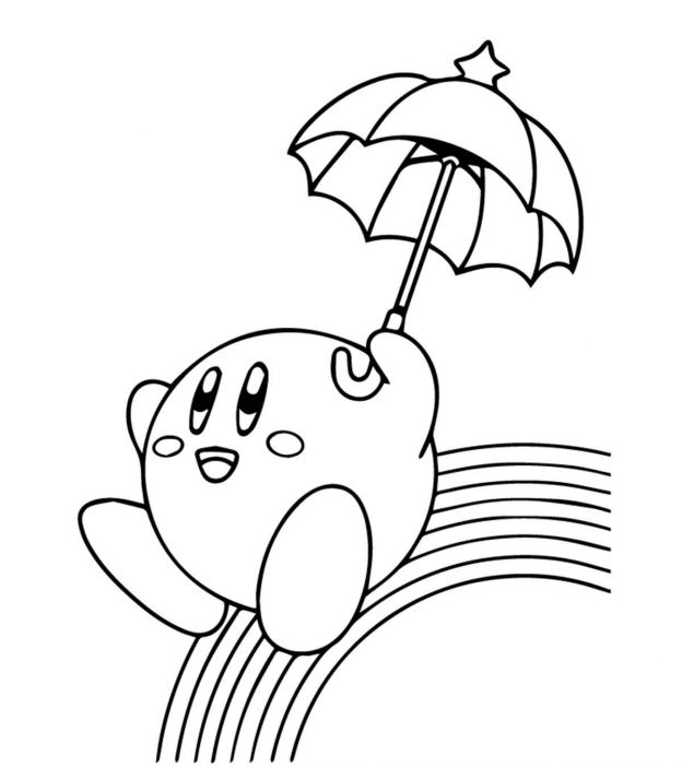 rainbow coloring pages 10 rows - photo#8
