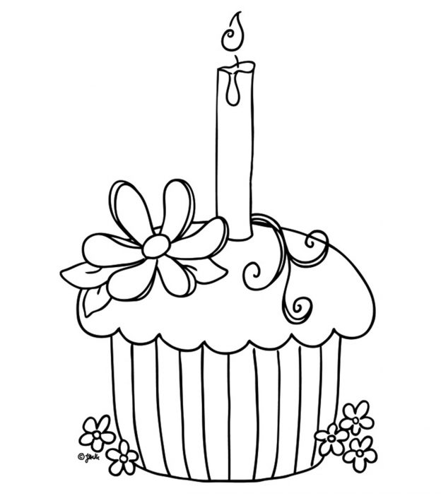 Top 25 Free Printable Cupcake Coloring Pages Onlinerhmomjunction: Cupcake Coloring Pages For Adults At Baymontmadison.com