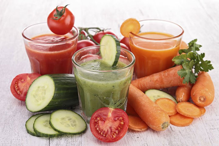 Vegetable Juice Drinking Energy Drinks while Pregnant