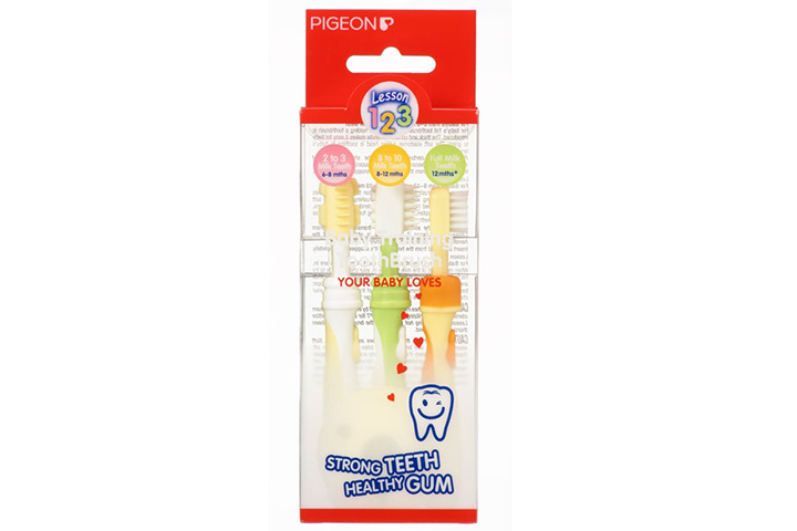 pigeon training toothbrush set