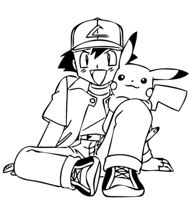 Top 93 Free Printable Pokemon Coloring Pages Onlinerhmomjunction: Pokemon Coloring Pages Easy At Baymontmadison.com
