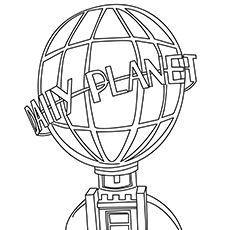 A Daily Planet Coloring Pages