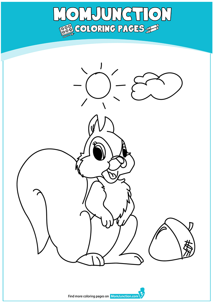 A-Squirrel-Coloring-ecureuil-16