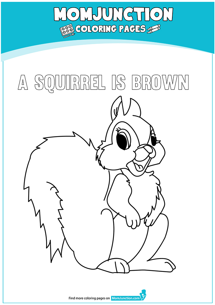 A-squirrel-is-brown-coloring-16