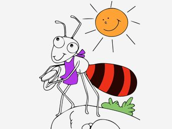 25 Theme Based Ants Coloring Pages Your Toddler Will Love