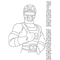 Black Ranger 17