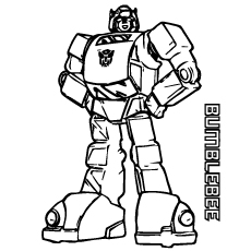 transformer bumble bee coloring pages Top 20 Free Printable Transformers Coloring Pages Online transformer bumble bee coloring pages