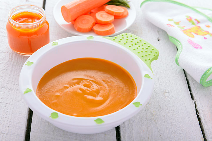 Carrot puree (for 4+)