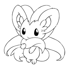Cinccino Coloring Pages