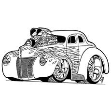 Free-car-coloring