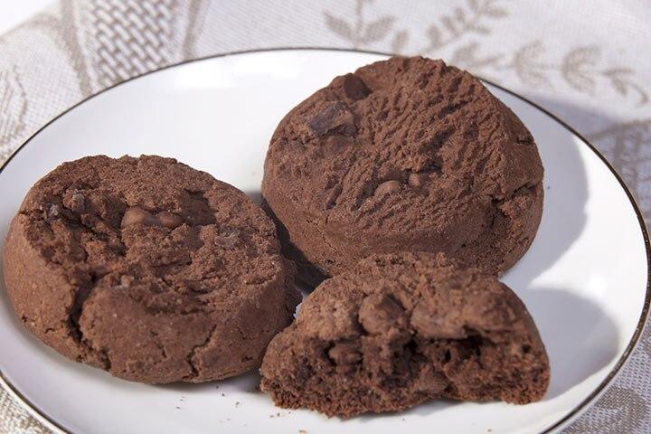 Fudgy cookies
