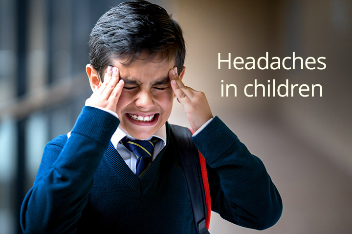 Dolores de cabeza en los niños Causas y síntomas-7943