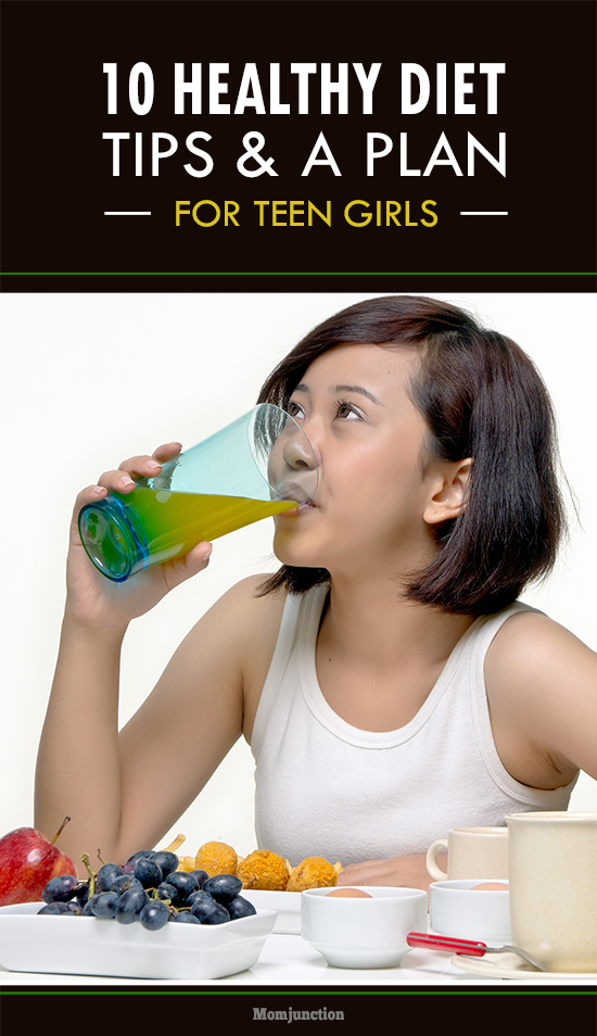 Diet For Teenage Girls - 10 Tips For an Effective Diet Plan