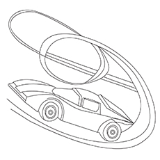 Hot-Wheels-16 Best Coloring Pages
