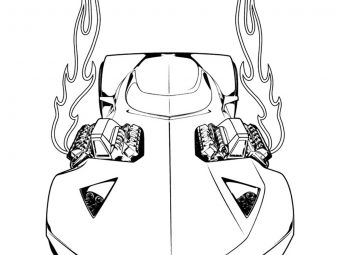 25 Printable Hot Wheels Coloring Pages For Your Naughty Kid