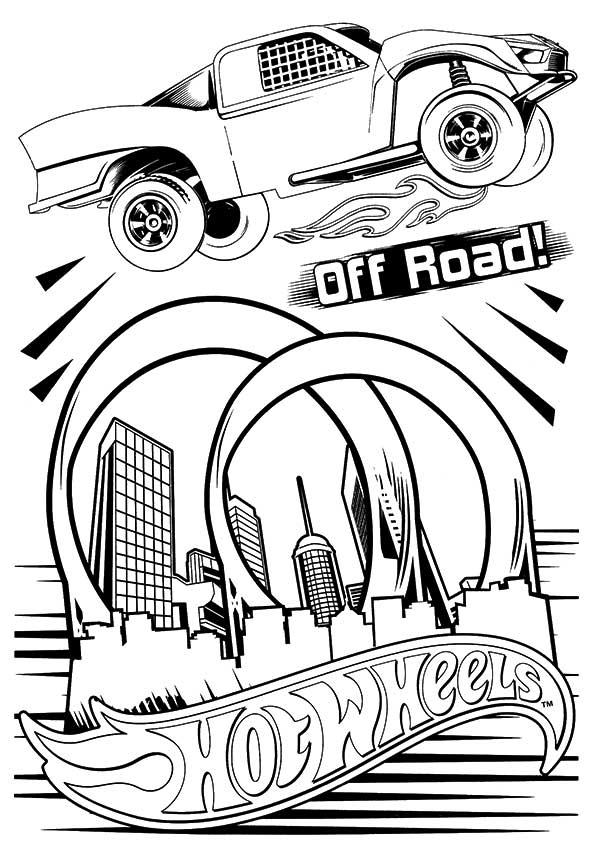 Hotwheels-coloring-of-road