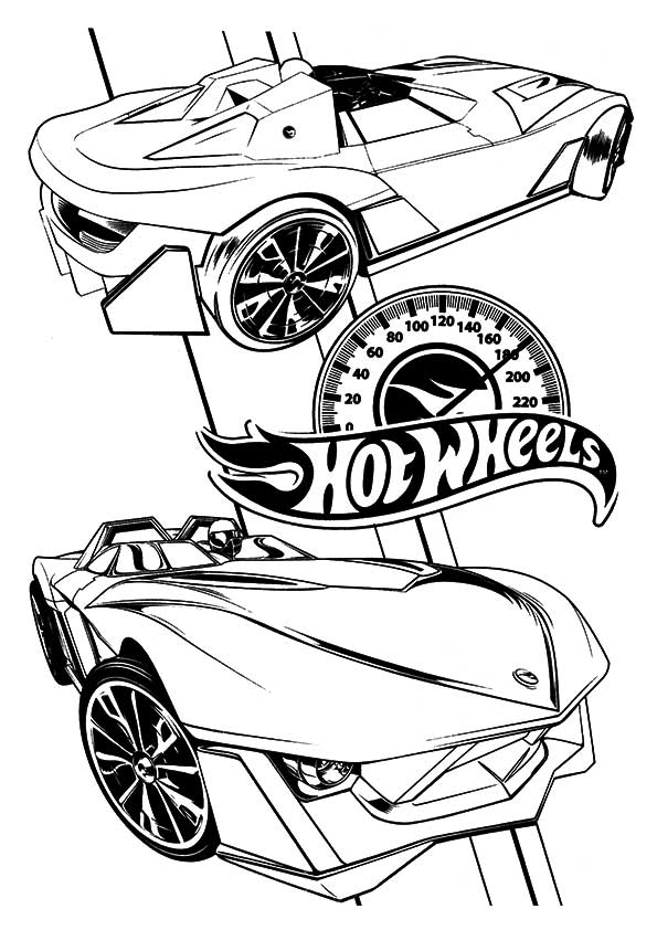 Hotwheels-coloring-speed-meter