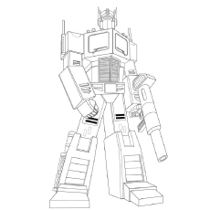 Iron Hide Transformers Fighting Duirng The War Coloring Pages