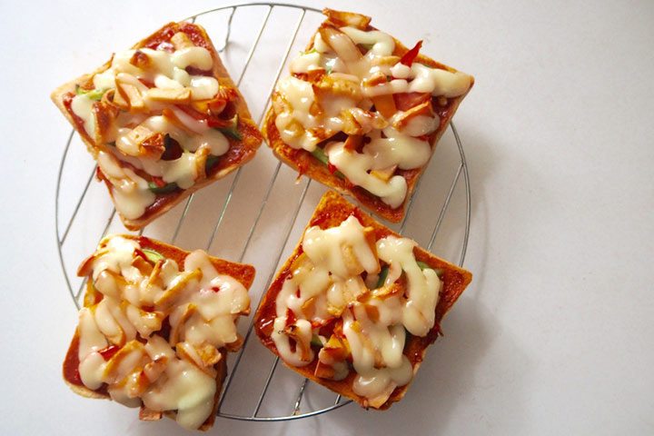 Mini pan pizza