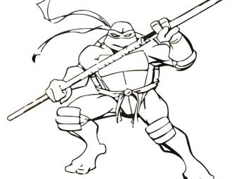 Top 25 Ninja Turtles Coloring Pages Your Toddler Will Love to Do