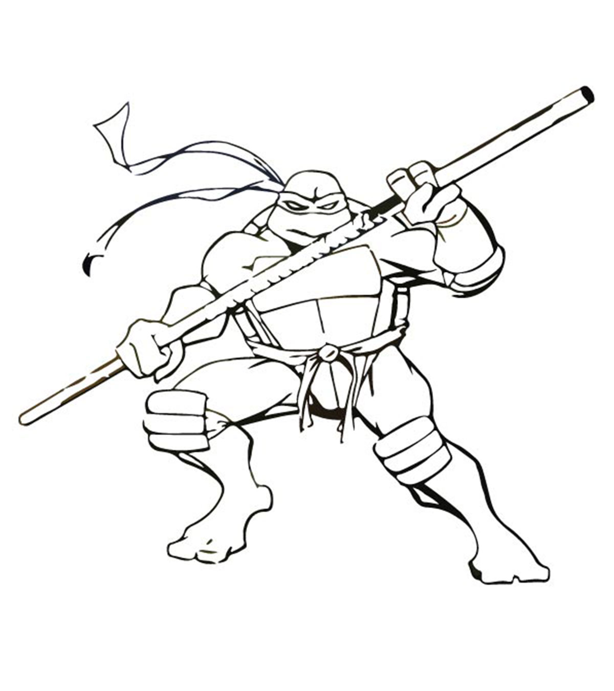 coloring pages turtles ninja songs-#9