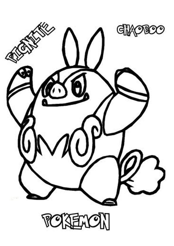Pignite-Pokemon