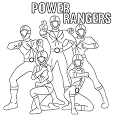 Power Rangers Team 17