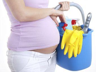 6 Helpful Precautions To Take While Cleaning During Pregnancy