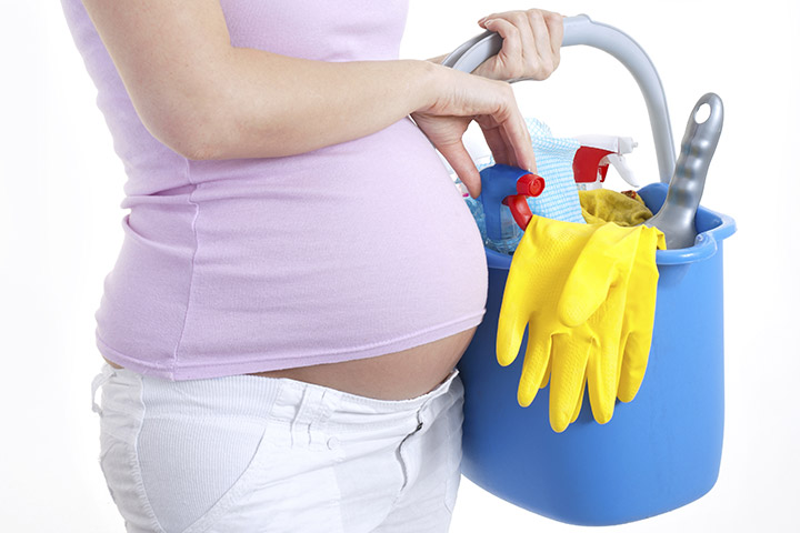 precautions to take while cleaning during pregnancy