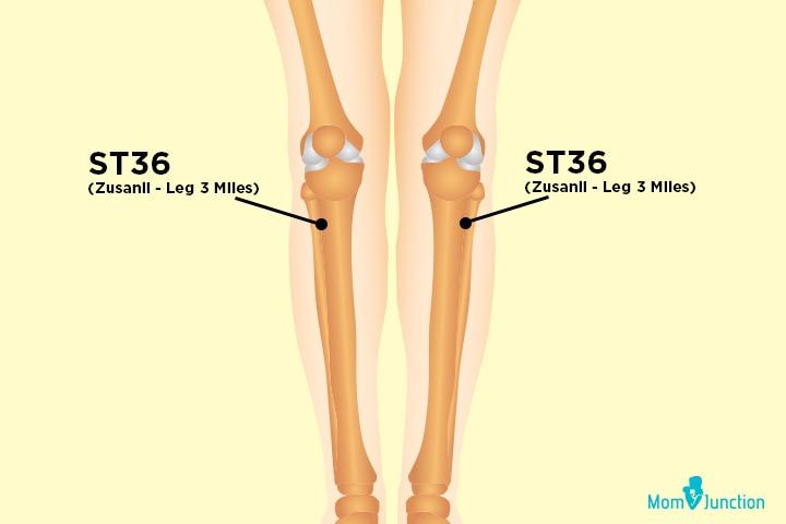 ST36 (Zusanli - Leg 3 Miles)