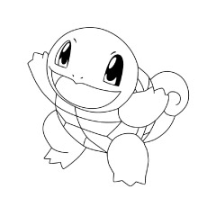 Squirtle from Pokemon Pictures to Print