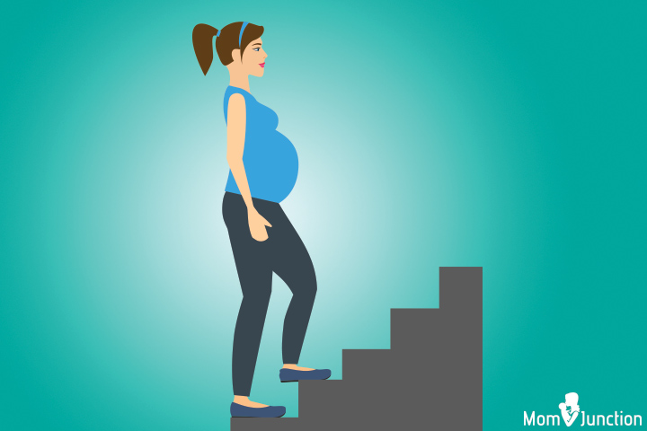Stair climbing position