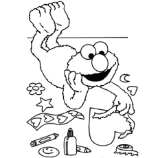 Wonderful Sesame Street Coloring Pages