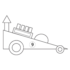 The-A-Racing-Car-16 coloring pages