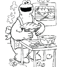 Alistair CookieTurns Chef Coloring Pages