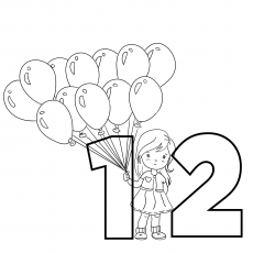 The Balloons Coloring
