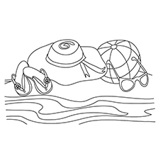Beach Buddies Coloring Pages