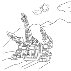 The-Dino-Thunder-16 coloring pages