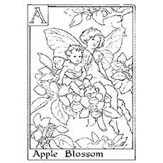 Top 25 Free Printable Beautiful Fairy Coloring Pages Online - Flower-fairy-coloring-pages
